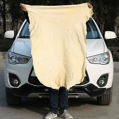 Natural Chamois Leather Cloths Car Cleaning Washing Drying Extra Large Towels UK