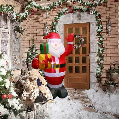 5ft Christmas Inflatable Santa Claus Family Airblown Light Up Yard Home Decor