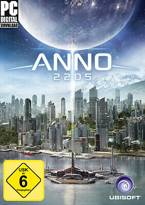 Anno 2205 Standard Edition PC Download Vollversion Uplay Code Email (OhneCD/DVD)