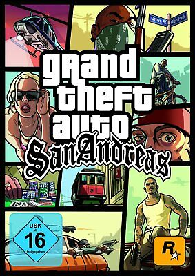 GTA - Grand Theft Auto San Andreas PC Download Vollversion Steam Code Email