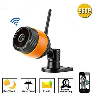 FJ- LN_ Bullet Security IP 960P Wireless WiFi IR Night Vision Network HD Camera