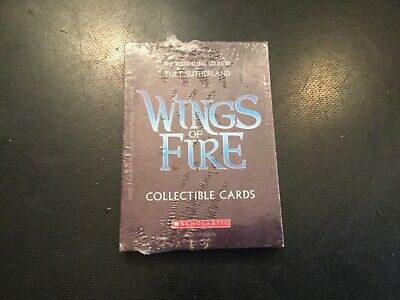 WINGS OF FIRE Collectible Cards Tui T. Sutherland Scholastic Book Series NIP