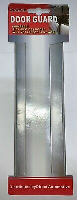 Eclipse Car Door Guard Edge Protector - Twin Pack - Clear