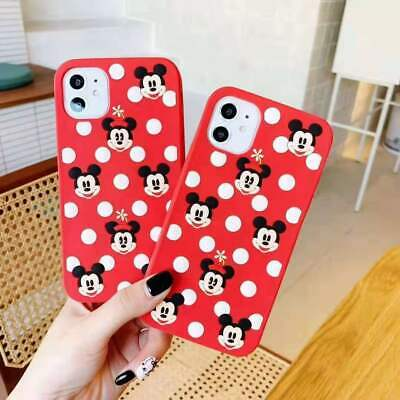 3D Silicone Mickey Minnie Soft Rubber Case fo iPhone 11 Pro Max iPhone Xs Max XR