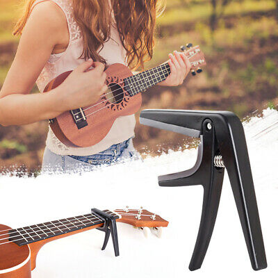 Quick Change Guitar Capo Tune Clamp Key for Acoustic Electric Guitar Ukulele NEW