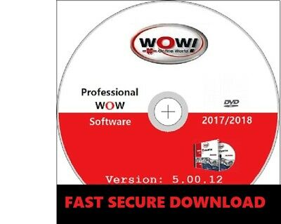 LATEST 2018 VERSION✔Wurth WOW 5.0012 Diagnostic Garage Software✔Download✔