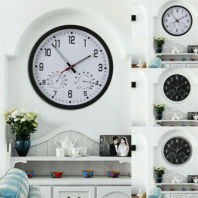 Movement Super Silent Clock Large Quartz Wall Clock Office Home School Display