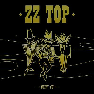 ZZ TOP GOIN' 50 DELUXE 3 CD - FIVE DECADES OF HITS (Release August 16th 2019)