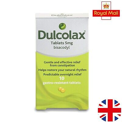 Dulcolax 5mg Gastro Resistant Constipation Laxative Tab 10 20 tablet expiry 2021
