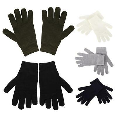 Adult Merino Wool Cashmere Warm Thermal Liner Gloves Winter Warmth Accessory