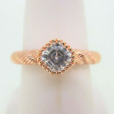 NEW Judith Ripka Sterling Textured Braided Men's Ring SIZE 13 Jewelry & Watches