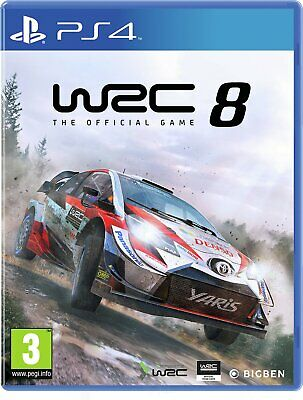 WRC 8 Sony Playstation PS4 Game 3+ Years