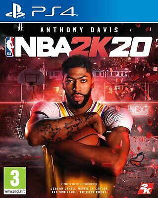 NBA 2K20 Sony Playstation PS4 Game 3+ Years