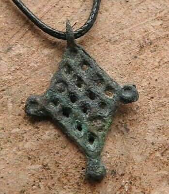 "Ancient bronze pendant ""sown field"" Kievan Rus Vikings 11-12"