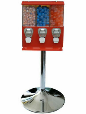 Red Bouncy Ball / Sweet, Retro Coin Operated Vending Machine. Commercial Grade