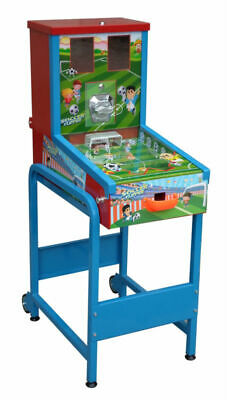50p Coin Operated Bouncy Ball Interactive Football Vending Machine. ( Pinball )
