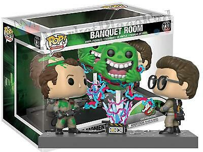 Funko POP! Ghostbusters Movie Moment - #730 Banquet Room - Peter, Egon & Slimer