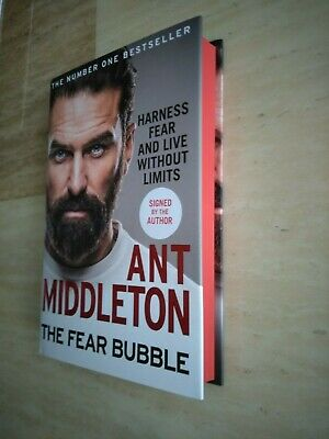 SIGNED Ant Middleton - The Fear Bubble - Limited Edition 1st/1st Red Edges - dmg