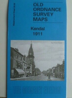 Old Ordnance Survey Maps  Kendal 1911 Westmorland Godfrey Edition Discount