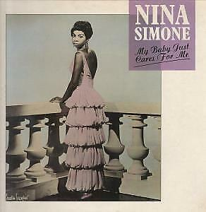 "NINA SIMONE My Baby Just Cares For Me 12"" VINYL UK Charly 1987 3 Track Nina"