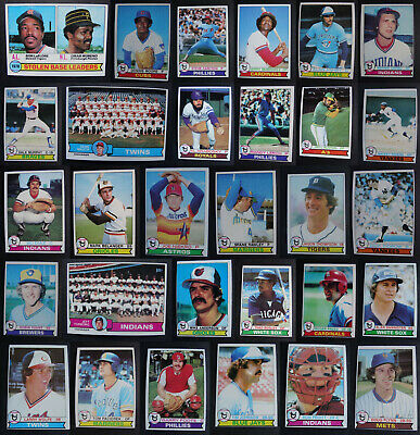 1979 Topps Baseball Cards Complete Your Set U You Pick From List  4-250