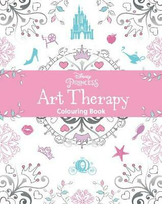Disney Princess Art Therapy Colouring Book, Parragon Books, New, Book