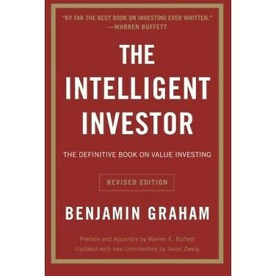 The Intelligent Investor by Benjamin Graham (Softcover Book)