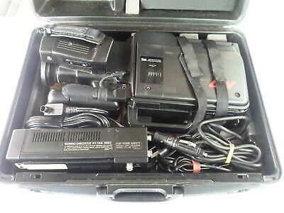 Panasonic, VHS M7 Movie Camera, with Case, Not tested