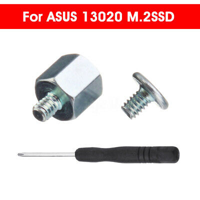 AUS Mounting Kit Stand Off Screwdriver Screws Nut For ASUS 13020 M.2SSD A