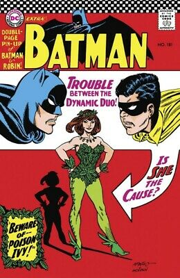 Batman #181 Facsimile Edition Dc Comics  Harley Just Like It Used To Be! 090419