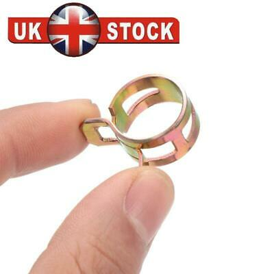 10X 5-16mm Metal Spring Clips Fuel Oil Water Hose Clip Pipe Tube Clamp HOT SALE