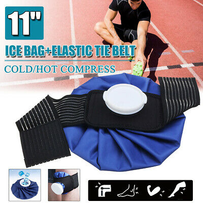 AU Ice Bag Pack Pain Relief Cold Broad Knee Shoulder Injuries Therapy Strap Wrap