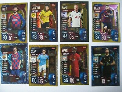 Match Attax 2019/20 Pick Limited Edition 100 club Hat Trick Hero Club Legend