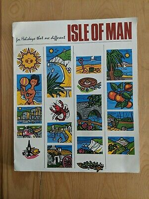 1966 Holidays Isle Of Man Brochure 116 Pages Tt Motorcycle Races Cycling