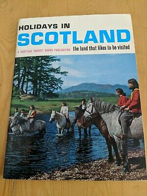 1966? Holidays In Scotland Brochure 96 Pages