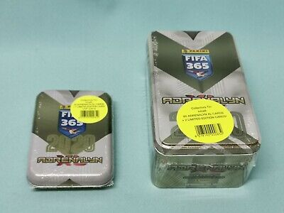 Panini Adrenalyn XL FIFA 365 2020 Mega Tin Box + Pocket Mini Tin 3 x Limited