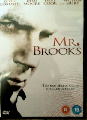 Mr Brooks DVD 2007 Serial Killer Suspense Película de Cine con Kevin Costner
