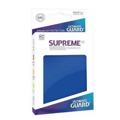 Ultimate Guard Standard Sleeves Supreme UX - Blue (80) MINT
