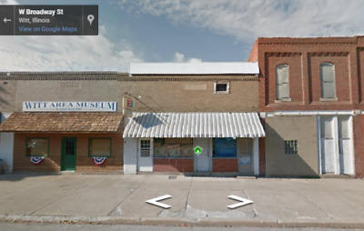 Property Auction! Commercial Building Lot On 0.05 Acres for sale in Witt, IL