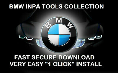 Bmw Diagnostic And Coding Tools Collection ✔️ Inpa✔️2019 ✔️ One Click Install✔️