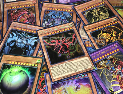 Yugioh! 💎Premium💎Egyptian God Cards/Sacred Beasts Collection! All Holographic!