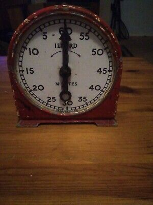 Antique ilford Dark Room Clock