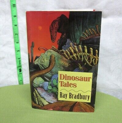 RAY BRADBURY autograph Dinosaur Tales hand signed book 1996 science-fiction