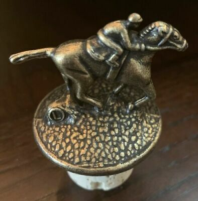 Blanton's Single Barrel Bourbon Cork Horse Stopper Letter L NEW  RARE