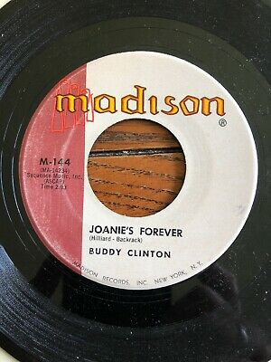 Buddy Clinton Take Me To Your Ladder / Joanie's Forever 45 Madison Label