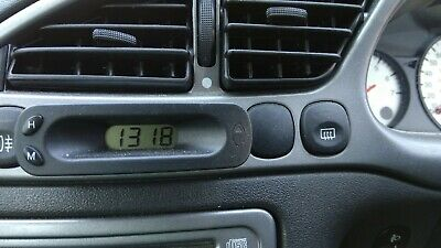 Ford Puma / Fiesta / Transit etc Digital Clock 96FB-15000-CA (Tested)