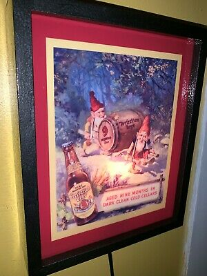Perfection Gnomes Beer Bar Tavern Man Cave Lighted Advertising Sign