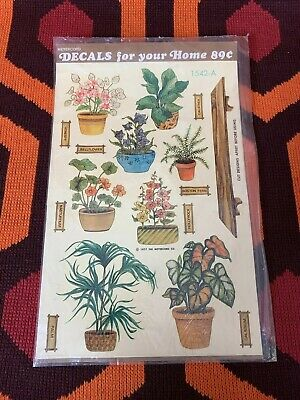 Vintage Meyercord Decal Mini-Cals water-slip transfer decals for Arts & Crafts