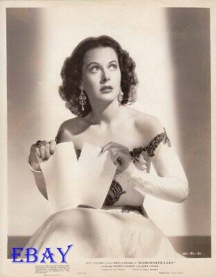Hedy Lamarr Dishonored Lady VINTAGE Photo