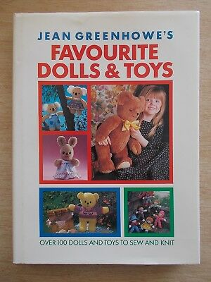 Jean Greenhowe's Favourite Dolls & Toys~100 Projects to Sew & Knit~256pp HBWC~